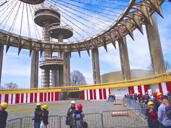 New York State Pavilion - Photos & Opening | new york state pavilion photos & opening nye pavilion opening april 22 2014 may 18 2014