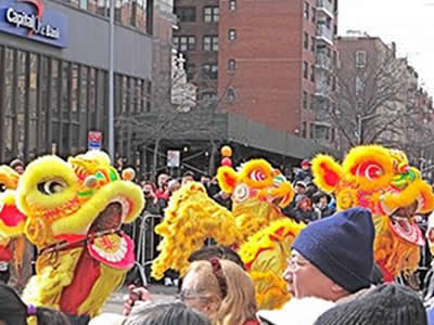 Chinese New Year Parade - Flushing Queens NYC | chinese new year parade 2018 flushing chinese new year parade 2018 queens chinese & korean culture new year parade & celebrations nyc queens 2018