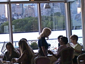 Restaurants In Long Island City LIC - The Waters Edge | Waters Edge Restaurant located Long Island City neighborhood Queens NY Waters Edge restaurant world class dining world class view Manhattan skyline seafood  fine dining, restaurant outdoor space seating Long Island section Queens NY