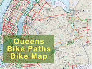 Bike Maps of Queens 2012 - Bike Paths in Queens | bike paths in queens bike paths in lic astoria long island city sunnyside woodside jackson heights corona elmhurst flushing jamaica rockaways queens bike paths