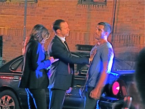Blue Bloods Shot On Location In Woodside | blue bloods shooting on location in woodside queens blue bloods star donnie walhberg in woodside sunnyside photos