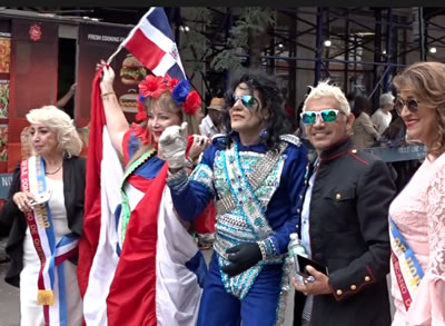queens dominican parade jackson heights neighborhood nyc