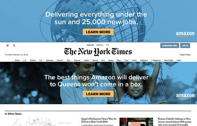 amazon ad to queens community january 2019 image