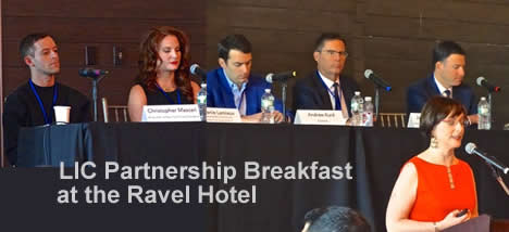lic partnership real estate breakfast queens nyc