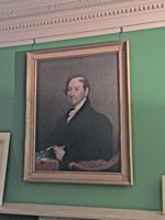 Rufus King portrait King Manor Jamaica NY