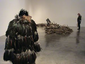 art exhibits at PS1 art museum in Long Island City Queens NYC