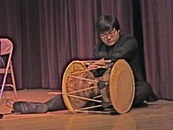 korean drums at Jamaica Center for Arts & Learning in Jamaica Queens NYC