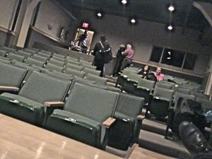small performance space / theater at JCAL in the Jamaica neighborhood of Queens NYC