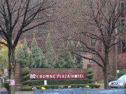 Crowne Plaza LaGuardia Hotel in East Elmhurst Queens NYC