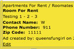 Queens Buzz Classified Ads