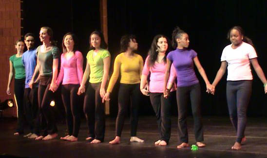 LaGuardia Community College dance performance