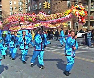 Chinese New Year in Flushing Queens NY