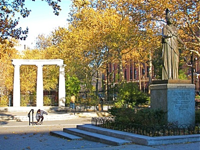 Athens Square Park Astoria NY Queens