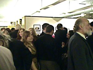 attendees Flushing Remonstrance opening night reception Queens Library Flushing NY