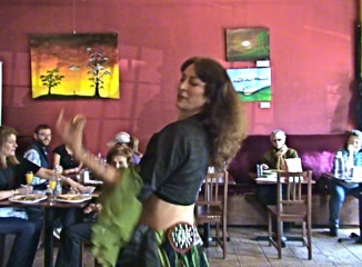 Flamenco Dancing at Tierra Sana restaurant in forest hills ny Queens