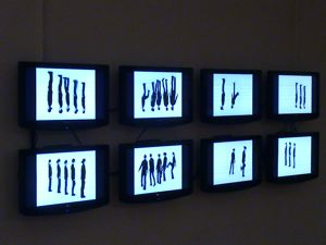 video installation Queens International Queens Museum Of Art Flushing NY
