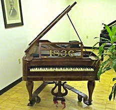 Original 1836 Steinway Piano 1836 Astoria NY Queens