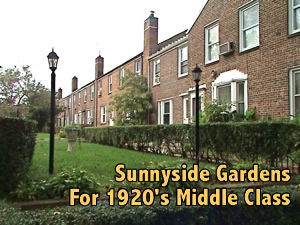 Historic Sunnyside Gardens Sunnyside Historic Landmark Queens NY