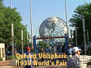 Historic Queens Unisphere 1939 World's Fair Queens NY History