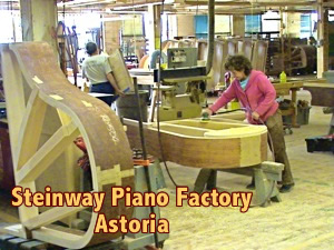 Steinway Piano Factory historic site Queens History Astoria History