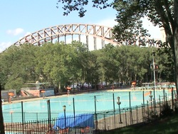 Astoria Park Swimming Pool Olympic sized public pool Astoria Park
