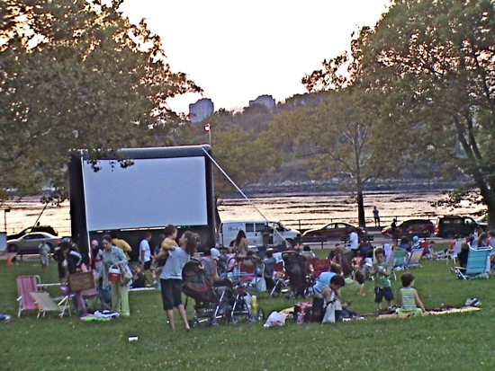 movies in Astoria Park summer movies