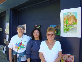Jackson Heights Art Club members