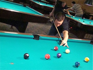 mike immonen u.s. open billiards champion queens ny