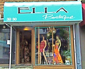 Ella womens dress boutique Astoria