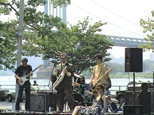musical festival in Astoria Park 2009