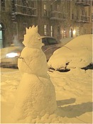 snowman in queens ny
