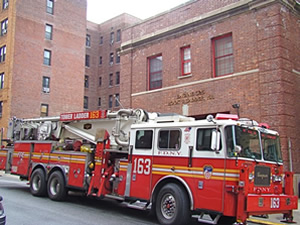 fire station truck woodside queens