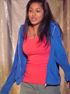 actress in 167 tongues jackson heights repertory theatre