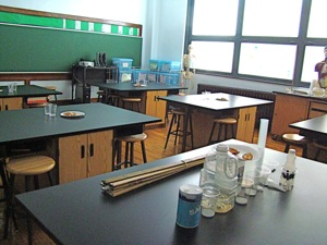 science lab at st sebastians private grade school woodside queens