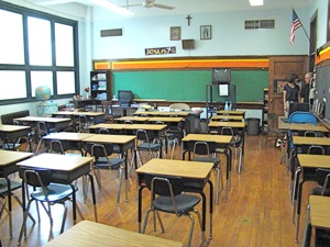 classrooms at st sebastians grade school woodside ny