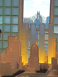 architectural model world trade center