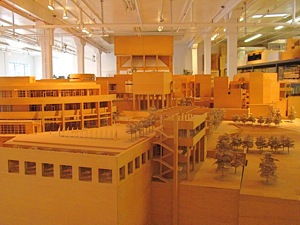 Richard Meier Model Museum Long Island City Lic Nyc On
