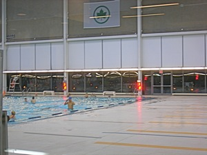 indoor olympic sized swimming pool flushing queens