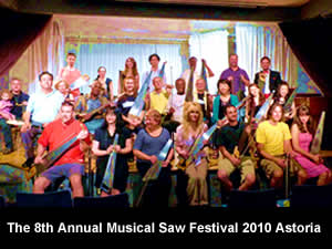 NYC Musical Saw Festival 2010 Astoria