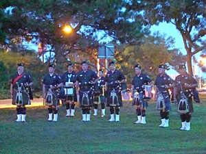 bagpipers at 9/11 memorial service queens ny