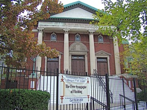 free synagogue of flushing