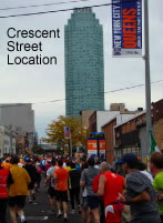 best times to view nyc marathon in queens lic