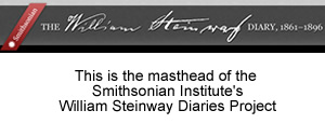 smithsonian institute steinway diaries
