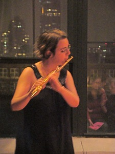 flutist at lic dance festival