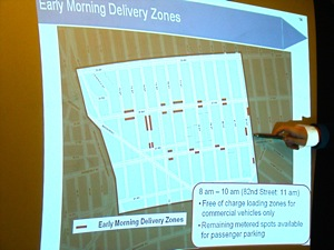 early morning delivery zones in jackson heights