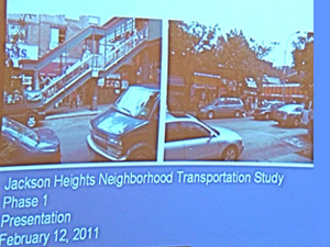 traffic study of jackson heights