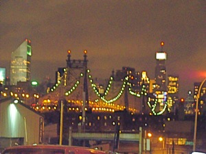 view of queens borough bridge long island city photo