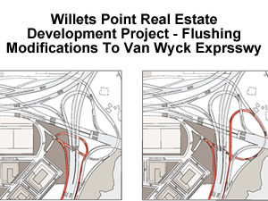van wyck expressway change willets point development