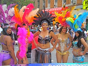 photos of gay parade in jackson heights