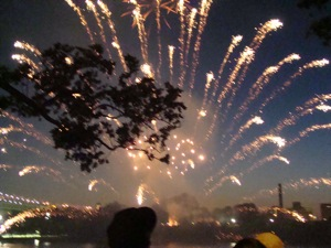 astoria park fireworks photos